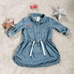 Toddler girl denim dress 2T